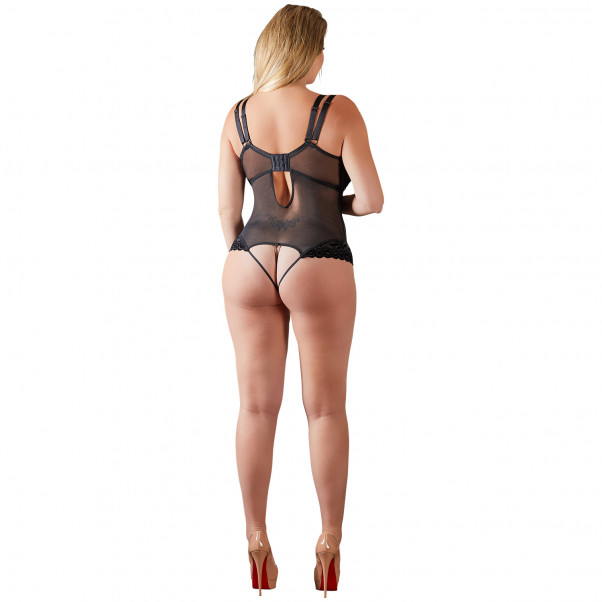 Cottelli Bodystocking med Half-Cup   2