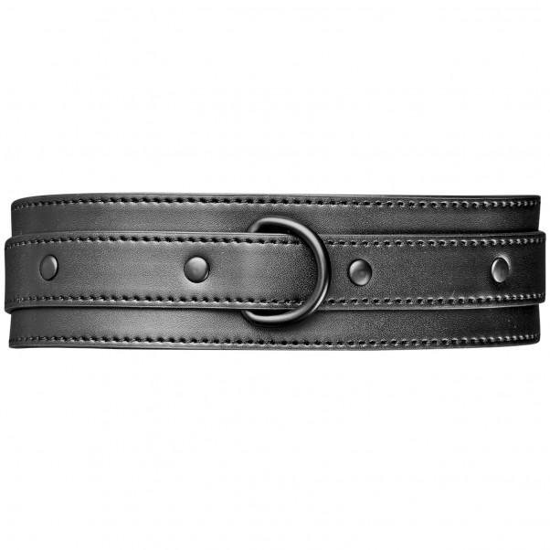 Obaie Halsband i Konstläder med D-Ring