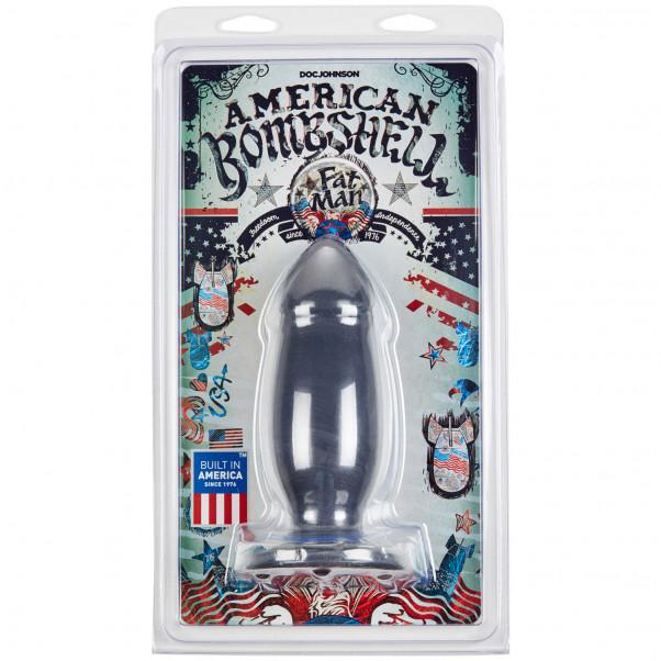 American Bombshell Fat Man Analplugg 19 cm  3