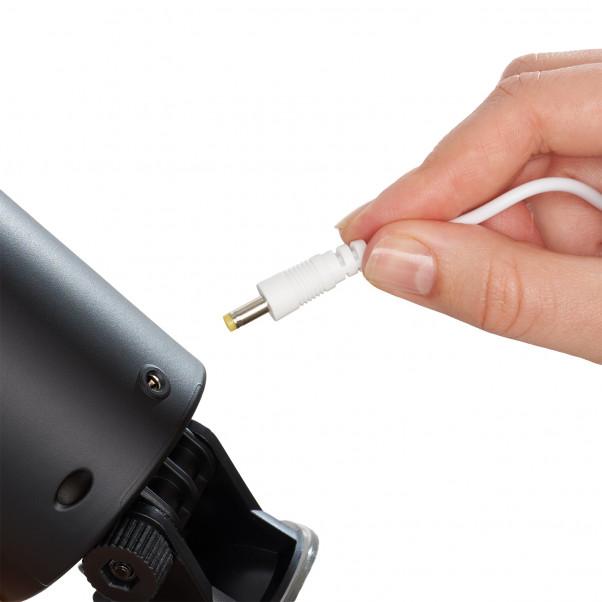 Leten X-9 Retractable Uppladdningsbar Masturbator produkt i hand 51