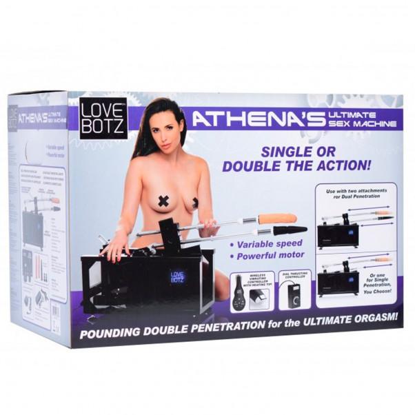 LoveBotz Athenas Double Penetration Sexmaskin