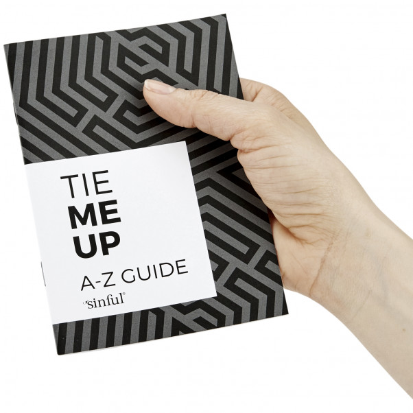 Sinful Tie Me Up Sexleksaksset med A-Z Guide