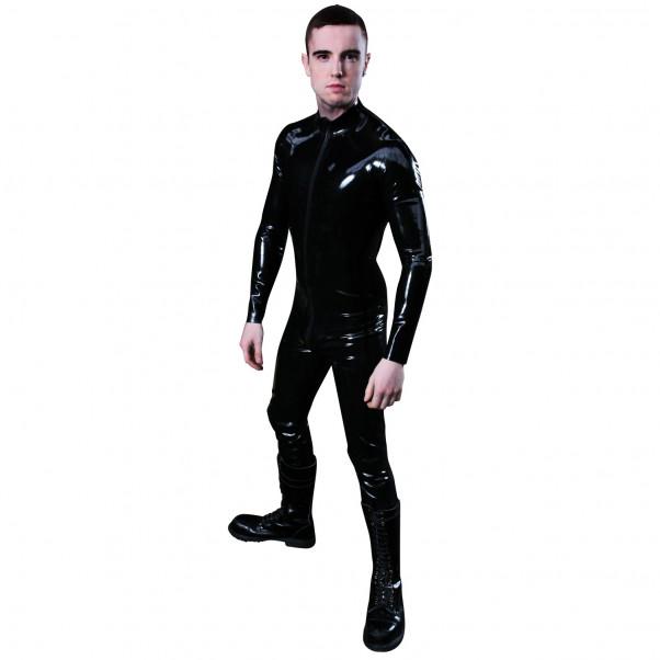 Mister B Rubber Full Bodysuit med Blixtlås