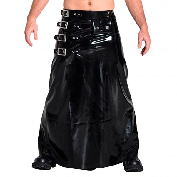 Mister B Rubber Buckle Skirt Lang