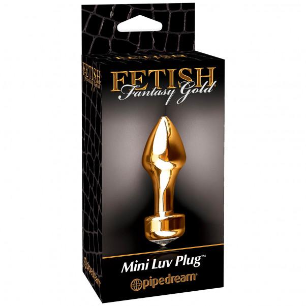 Fetish Fantasy Gold Mini Luv Analplugg