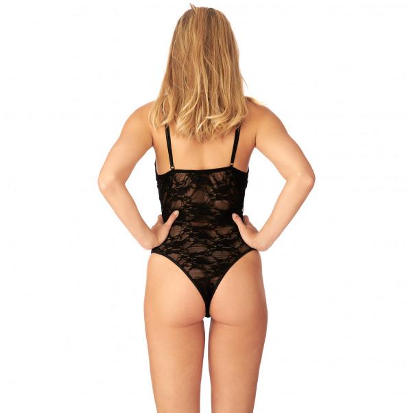 Nortie Liv Grenlös Body i Spets produkt på modell 3