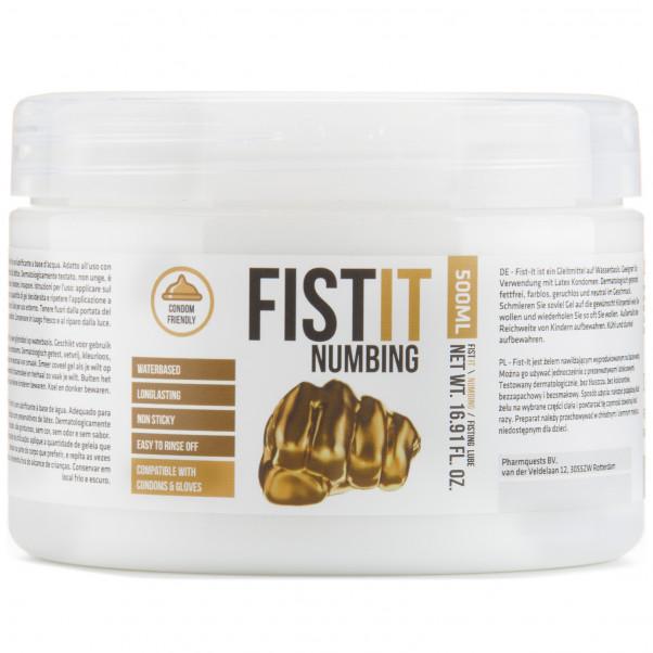 Fist It Numbing Bedövande Glidmedel 500 ml  1