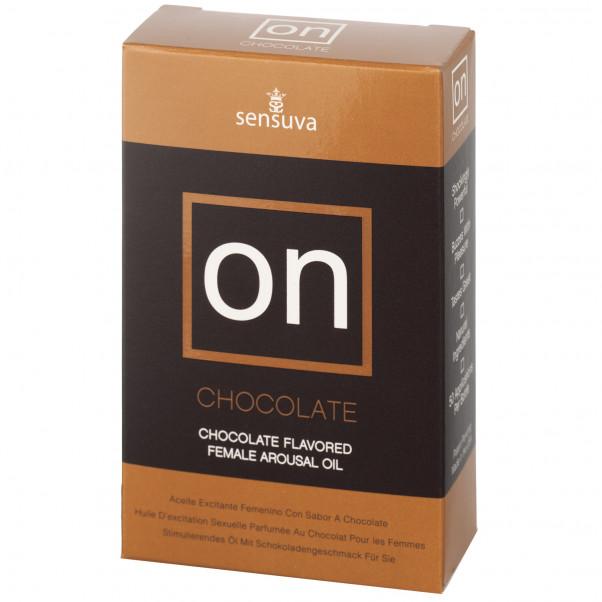 Sensuva On Chokolade Stimulerings Olie 5 ml Pack 90