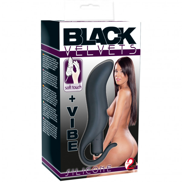 You2Toys Black Velvets Vibrerande Analplugg  3