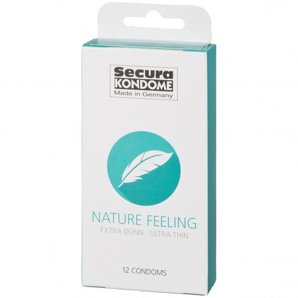 Secura Nature Feeling Kondomer 12 st bild på förpackningen 90