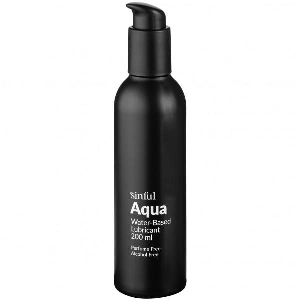 Sinful Aqua Vattenbaserat Glidmedel 200 ml produktbild 1