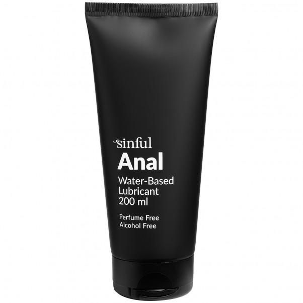 Sinful Anal Vattenbaserat Glidmedel 200 ml produktbild 1