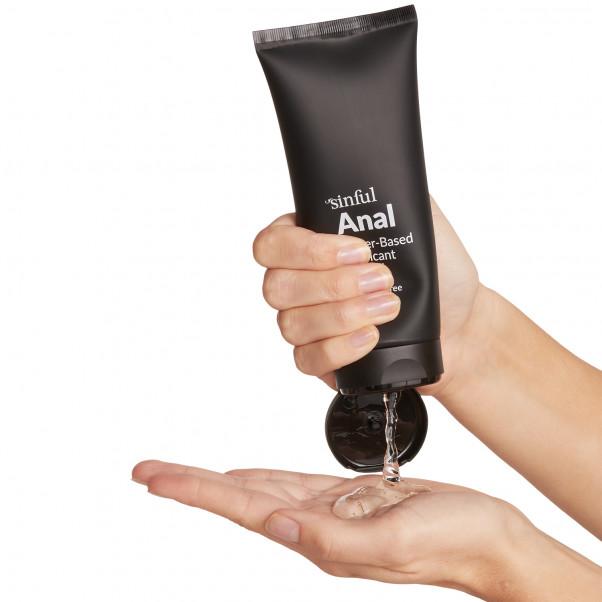 Sinful Anal Vattenbaserat Glidmedel 200 ml produkt i hand 51