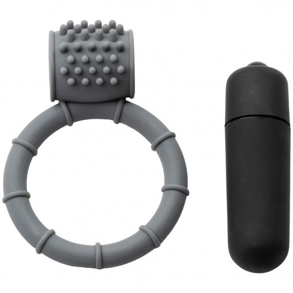 Baseks Silikon Penisring med Vibrator  4