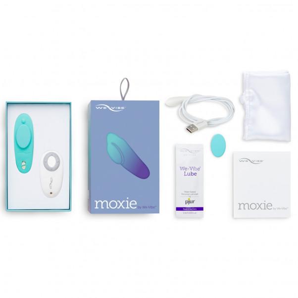 We-Vibe Moxie Trosvibrator med Fjärrkontroll och App bild på förpackningen 5