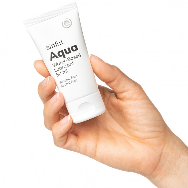 Sinful Aqua Vattenbaserat Glidmedel 50 ml  2