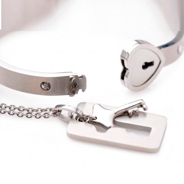 Master Series Armband med Lås och Nyckelhalsband  2