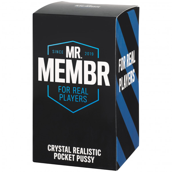 Mr. Membr Crystal Realistisk Pocket Pussy  90