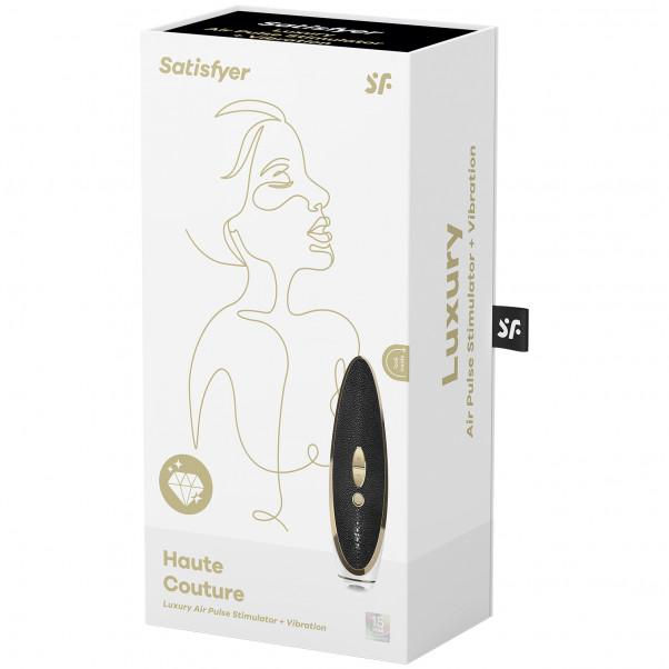 Satisfyer Luxury Haute Couture Lufttrycksvibrator bild på förpackningen 90