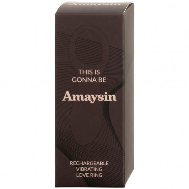 Amaysin Uppladdningsbar Vibrerande Penisring 100