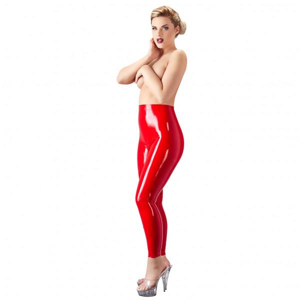 Late X Latex Leggings Röd  3