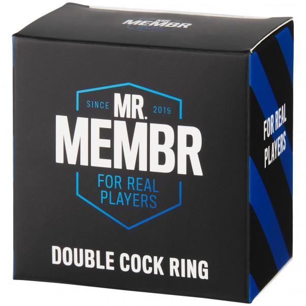 Mr. Membr Dubbel Penisring bild på förpackningen 90