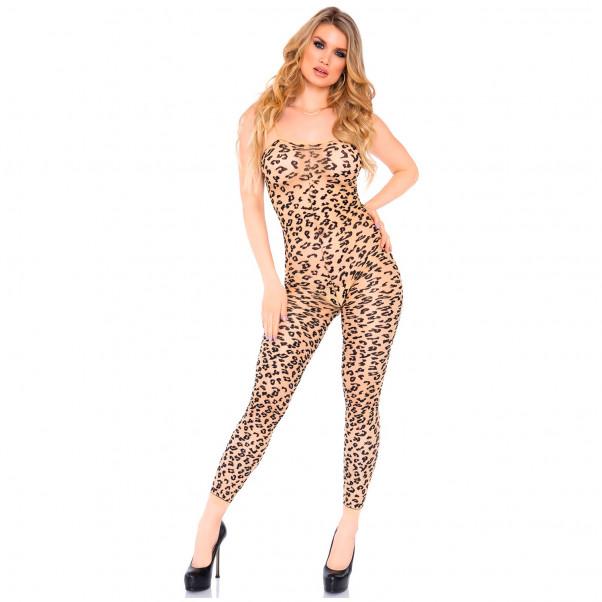 Leg Avenue Leopard Catsuit  1