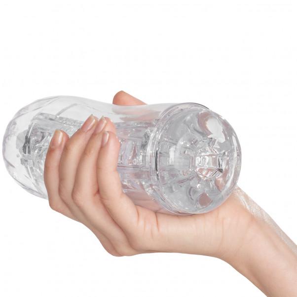 Mr. Membr Climax Klar Masturbator produkt i hand 50