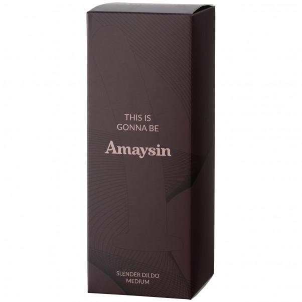 Amaysin Slender Dildo Medium bild på förpackningen 90