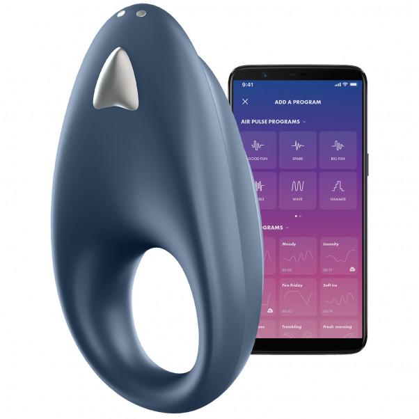 Satisfyer Powerful One Appstyrd Penisring produkt och app 1