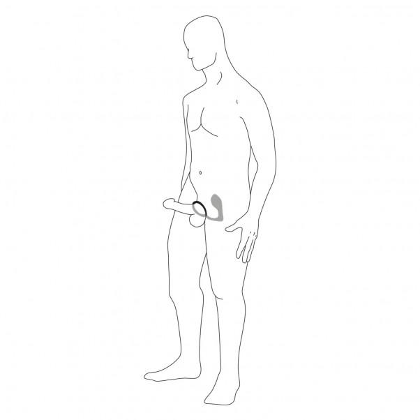 Anal Fantasy Ass-Gasm Penisring med Vibrerande Analplugg produktbild 10