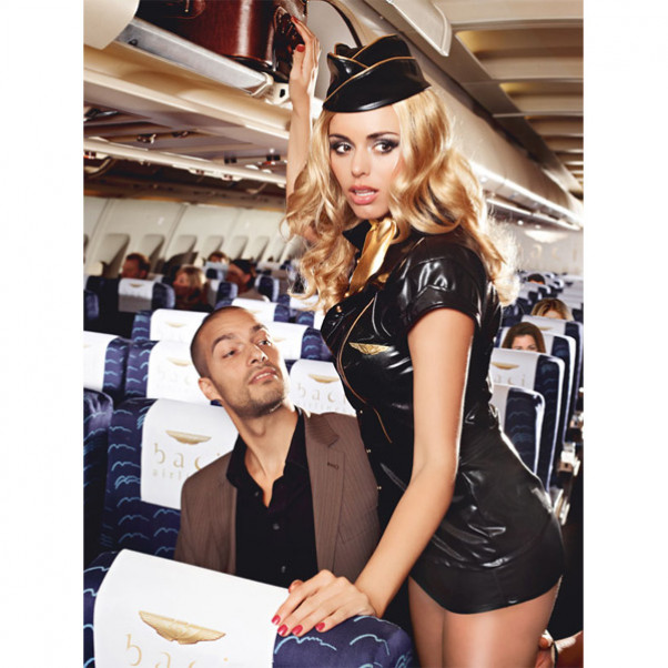 Frækt Stewardesse Kostume