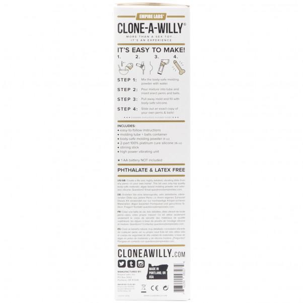 Clone-A-Willy Plus Balls Klona Din Penis bild på förpackningen 91