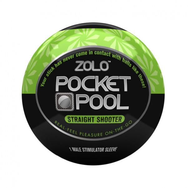 Zolo Pocket Pool Straight Shooter Onaniprodukt  1