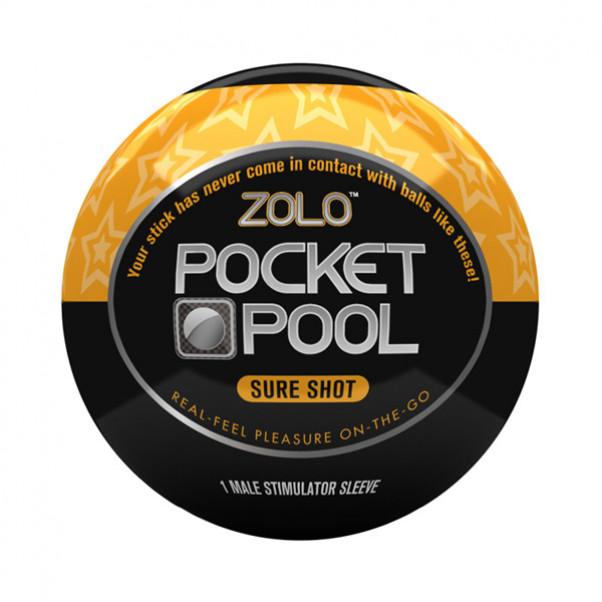 Zolo Pocket Pool Sure Shot Onani Handjob