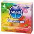 Skins Olika Kondomer med Smak 4 st  1