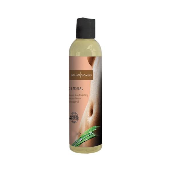 Ekologisk Massageolja 60 ml | Brands, Intimate Earth, Förspel, Ekologisk Massageolja, Hållbara sexleksaker och tillbehör | Intimast.se - Sexleksaker
